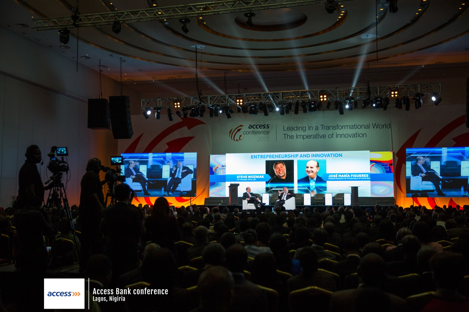 Event photography of the Access Bank conference